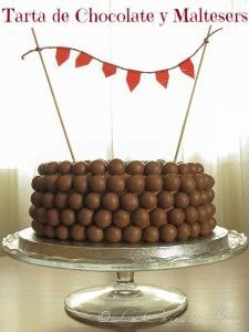 Tarta de Chocolate y Maltesers