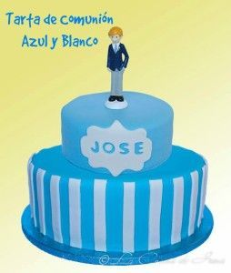 Tarta comunion Jose