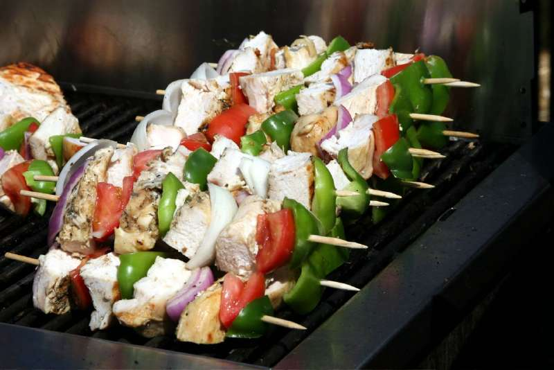 Brochetas de Pollo