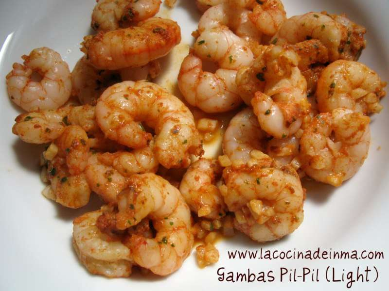 Gambas Pil-Pil (Light)
