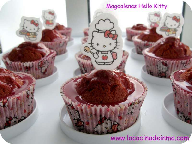 Magdalenas Hello Kitty