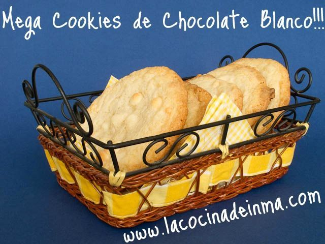 Mega Cookies de Chocolate Blanco 4