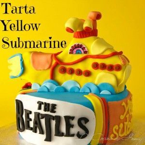 Tarta The Bealtes 7